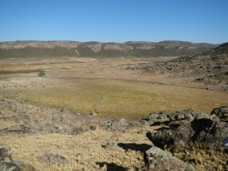 Promising coring site, Wergoba valley (3800m asl)