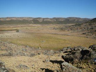 Promising coring site, Wergoba valley (3800m asl)